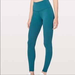"Lululemon Align 28"" size 6 in Tonic Teal"